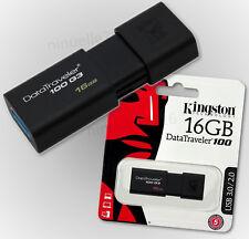 Clé USB 3.0 16 Go Kingston DataTraveler 100 g3 dt100g3 Clé USB