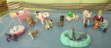 Lot of Barbie Animals, Pets Accessories & Fp Loving Family Woman Character
