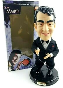 """Dean Martin Animated Singing & Moving Doll 18"""" Gemmy 2002 - FOR PARTS/Repair"""