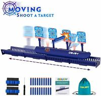 Obuby Kids Electronic Running Scoring Shooting Target, Moving and Static Modes