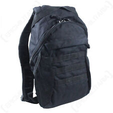 MOLLE 3L WATER PACK RUCKSACK - Black - Hiking Walking Utility Bag