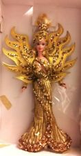 "BARBIE DOLL ""GODDESS OF THE SUN"" BY BOB MACKIE with Artist's Sketch & Box!!!"