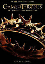 Game of Thrones: Season 2 (DVD, 5-Disc Set) - **DISCS ONLY**