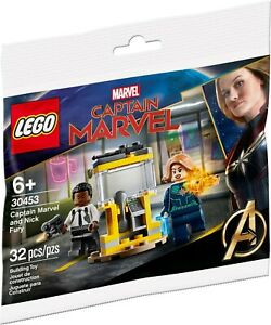 LEGO 30453 DC Super Heroes Captain Marvel and Nick Fury polybag