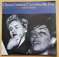 Chris Connor, Carmen McRae – I Hear Music  Vinyl LP   1983  Affinity – AFF 97
