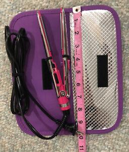 BaByliss PRO Prima 2000 Mini Travel Flat Iron with Case NEW