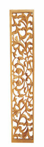 Feature Wall Panel Hand Carved Georgian Style Fretwork Panel in Pine wood, PG883