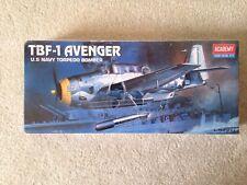 TBF-1 Avenger U.S. Navy Torpedo Bomber 1/72 Academy 1987, NIB