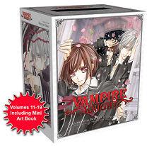 Vampire Knight Volumes 11-19 Box Set 2 inc Mini Art Book