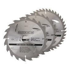 Silverline 298537 LAME circolare TCT 20,24,40T 3pk 180 x 30 - 20,16mm