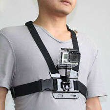 For GoPro HERO7/6/5/4 Chest Mount Camera Body Harness Pro Adjustable Belt Strap