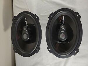"""Rockford Fosgate Power T1693 6""""x 9"""" 3-way Speakers"""