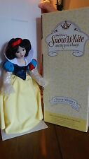 Disney Snow White and 7 Dwarfs Porcelain Doll Set Limited Edition #579/2500