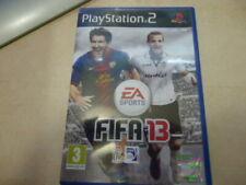 PS2 FIFA 13 manual juego caja PAL ESPAÑA