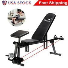 Eunsung Adjustable Weight Bench Press Flat Incline Lifting Fitness Gym Exercise