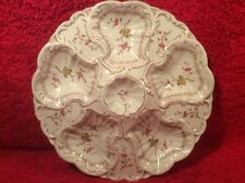 Oyster Plate Gorgeous Antique Victorian Austria Oyster Plate c.1876-1889, op317