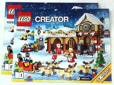 Lego Bauanleitung für 10245 Santa's Workshop Hefte1+2 Neu