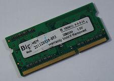 1GB Notebookspeicher Bigway DDR-III 1333MHz TOP! (N3)