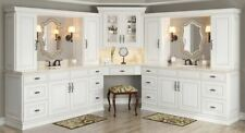 Antique White Kitchen Cabinets-Sample-Rta-All wood, in stock, ready to ship
