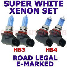 SUBARU FORESTER 2006-2012 Set HB3 HB4 Ampoule phare xénon
