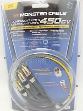 Monster Cable 450CV 4 meter Component Video Cable  Model MC 450CV-4M