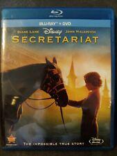 Secretariat (Blu-ray, 2010) Disney Diane Lane - Free Shipping!