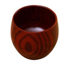 288ml Rustic Pot-bellied Coffee Cup Handmade Tea Mug Wooden Beer Mug Gift