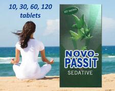 NOVOPASSIT NOVO-PASSIT Natural Herbal Sedative 10-120 tablets