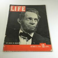 Vintage Life Magazine: October 31 1938 - Abe Lincoln On Broadway