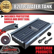 Caravan Camper Trailer, Boat 82 Litre Underbody Water Tank, shield & Rubber seal