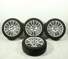 "06 07 08 09 10 Volvo C70 T5 Alloy Wheel Rims & Tires 225/45 R17 17"" Set Oem"