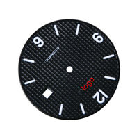 PARNIS Automatic 31.5mm Black Watch Dial Marks Date For Movement ETA 2824 Series