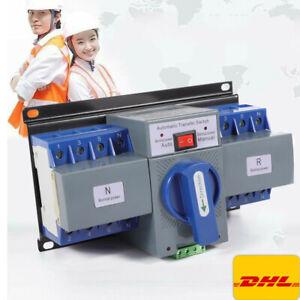 63A 4P Transferschalter Automatischer Umschalter Dual Netzteil Transfer Switch