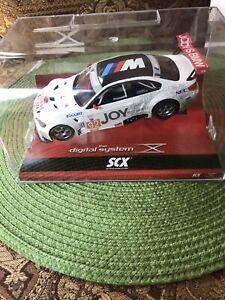 NEW! Rare SCX DIGITAL 1:32 Scale Slot Car. BMW M3 GT2 Auberlen Joy #92