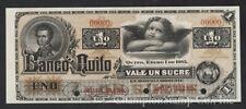 Ecuador Banknote Specimen S 246s