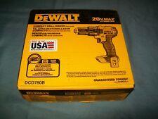 NEW Dewalt DCD780B 20-volt Max Lithium-ion Compact Drill Driver NIB