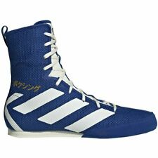 Adidas Box Hog Boxing Shoe New Men's 9 ½ Eg5170 Blue Collegiate Royal Off White