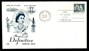 CANADA FIRST DAY COVER #544 8c on 1971 QEII DEFINITIVE