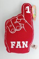 NEW #1 FAN Red Plush Hand - Sports Team Number No 1 - Sugar Loaf Toys