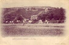 CPA 50 NORMANDIE Entre Avranches et Granville ST JEAN LE THOMAS La Plage  1900