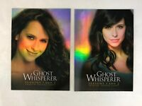 Your Choice Ghost Whisperer Seasons 1 2 3 /& 4 Various Promo Cards Exclusives