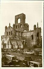 Kirkstall Abbey, Leeds Real Photo Postcard Close Up  RP  RH.786