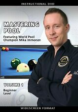 Mastering Pool Volume 1 - Mika Immonen - Billiards Training DVD