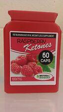 RASPBERRY KETONES WEIGHT LOSS FAT BURN DIET SLIMMING PILLS 60 CAPSULE BOTTLE rb