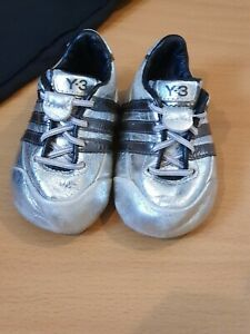 BABY BOYS SILVER Y3 TRAINERS SIZE 1K