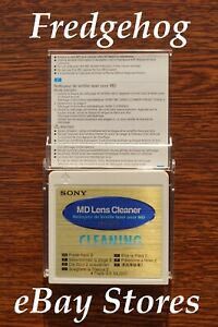 TOP QUALITY SONY MINIDISC LENS CLEANING DISC / MINI DISK CLEANER - MD-6LCL