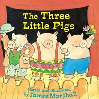 The Three Little Pigs (reading Railroad Books): By James Marshall