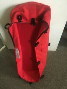 BUGABOO Cameleon 3rd Generation Carrycot Baby Bassinet for Pram Red Color