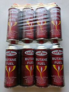 GasOne Butane Fuel Portable Stove Burner Camping 8 oz Canisters 8-Pack