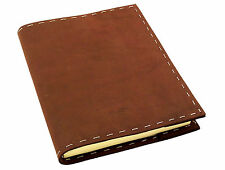 Refillable Genuine Leather Journal Diary Handmade Notebook Sketchbook Vintage
